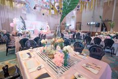 """Joanne's """"Memphis Design"""" Inspired Party - Table setting Party Themes, Party Ideas, Memphis Design, 1st Birthdays, Table Settings, Table Decorations, Inspired, Inspiration, Home Decor"""