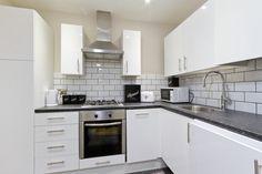 Kitchen basement flat London SW5 Cutler and Bond