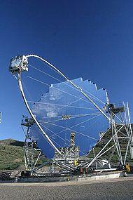 La Palma - El Telescopio MAGIC, en el Roque de los Muchachos.