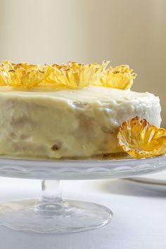 Wegański tort pina colada Pina Colada, No Bake Cake, Cake Recipes, Pudding, Vegan, Cookies, Baking, Food, Crack Crackers