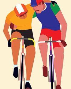 Compañerismo (ilust.: Rob Bailey http://robbailey.co.uk). by ciclosfera