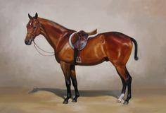 Hunter portrait.  Janet Crawford.