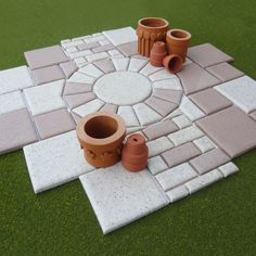 Candy Chappill shows us how to create and lay slabs for a Victorian garden.