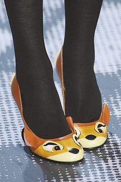 bambi shoes by jean-charles de castelbajac (audrey tautou was wearing them in the new film of michel gondry ^_^)