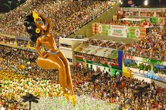(LeahTravels.com photo) Can you imagine this balloon at Macy's Thanksgiving Day Parade? Only in #Brazil! Read more about Carnival here: http://leahtravels.com/site/places/sao-clemente-broadway-in-brazil