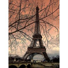 25 Stunning Photographs of the Eiffel Tower ❤ liked on Polyvore