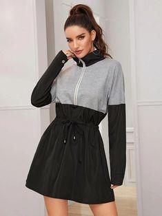 Pop Fashion, Fashion News, Fashion Brand, Coats For Women, Jackets For Women, Clothes For Women, Windbreaker Jacket, Long A Line, Make Up