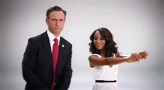 "cutefunsized: ""bananadome: ""Tony serving some Obama dancing on Ellen realness "" "" Dorks. Scandal Quotes, Scandal Abc, Glee Quotes, Scandal Season 1, Obama Dancing, Olivia And Fitz, Arrow Tv Shows, Tony Goldwyn, Ncis Los Angeles"