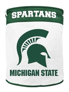 Michigan State Spartans NCAA Canvas Laundry Bag - Green 14791836c