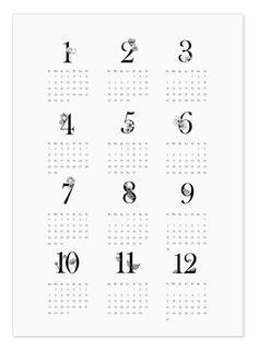 kalendarz 2019 do druku Bullet Journal Cover Page, Bullet Journal Key, Bullet Journal Spread, Journal Covers, Bujo, Bullet Journal Layout Templates, Calendar Organization, My Diary, Calendar 2020