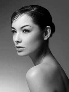Bérénice Marlohe | #blackandwhite #expression #nude #portrait #pose