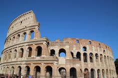 The Roman Colosseum A visitor's guide for the top 10 things to see and do in Rome, Italy. See photos and descriptions of the top places to go when in Rome. Rome Tours, Italy Tours, Atlanta Hotels, Sistine Chapel, Famous Architects, Ancient Rome, Grand Hotel, Rome Italy, Best Cities