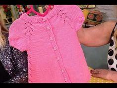 """Derya Baykal - Deryanın Dünyası-""""Kolay Bebek Elbisesi""""-12.05.2015 - YouTube"""