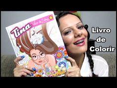 Livro de Colorir da TINA - Turma da Monica | Luciana Queiróz