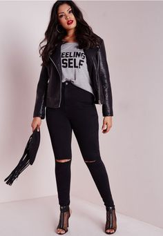 Missguided+ is the hottest new plus size line for babes of all sizes. Dedicated to directional, strong and confident designs for sizes 16-24, Missguided+ is the perfect platform to up your fashion game and work those curves in style. You ca...