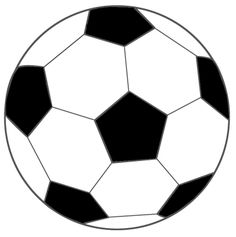 voetbal  zwart Soccer Room, Exercise Activities, Color Games, Vacation Bible School, School Sports, Soccer Ball, Clip Art, Quilts, Silhouette