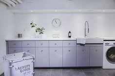 House of Philia Interior Design Living Room, Living Room Designs, Living Room Decor, Ikea Bathroom, Laundry In Bathroom, White Bathroom, Bathroom Ideas, House Of Philia, Kitchen Decor