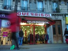 Guerrisol Paris. 19 Avenue de Clichy(not Blvd de Clichy, which is close by) . Best vintage shop in Paris.