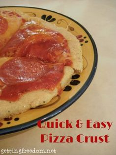 Quick and Easy Homemade Pizza Crust