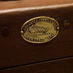 Decoration Archive Canvas  Leather Hat Box - Vintage - Accessories