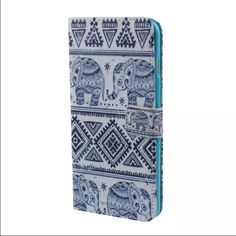 Elephant phone case! Vintage 6plus I phone case! It holds your cards and ID! Other