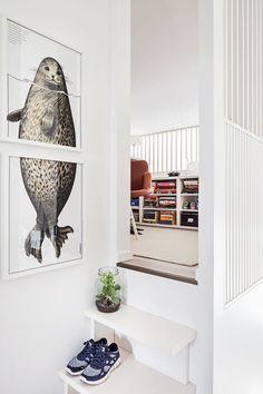 Parvella sijaitsevassa työhuoneessa on Yrjö Kukkapuron tuoli, jonka Nina-Sofie…
