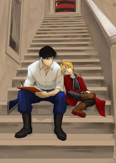 Some will see yaoi...i see a father son deal <3