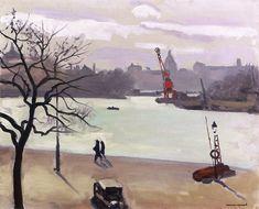 Along the Seine Albert Marquet