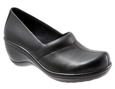 Softwalk Women's Slip-On Shoe, Melody (Black) - Click to enlarge title=