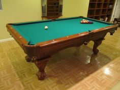 World Of Leisure Pool Table Sold Used Pool Tables Billiard - American heritage billiards pool table