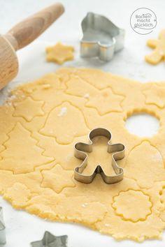 Simple cookie Einfacher Plätzchenteig The best cookie dough (basic recipe) Baking makes you happy - Cupcake Recipes, Baking Recipes, Cookie Recipes, Snack Recipes, Dessert Recipes, Easy Recipes, Mini Desserts, Fall Desserts, No Bake Desserts