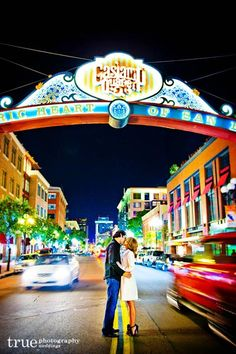 Awesome San Diego Gaslamp Quarter Photo / just added