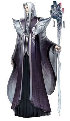 High Priest Sapphius from Culdcept Saga