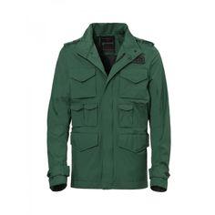 'Carl 42' forest green waterproof jacket by Pirelli Pzero