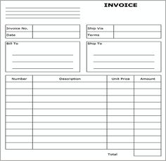 billing format in word invoice template for word free basic invoice free invoice templates for word excel open office invoiceberry free invoice templates - Free Printable Auto Repair Invoice Template
