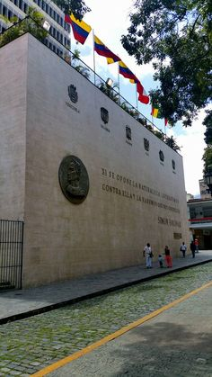 Calle Bolivariana de Caracas Venezuela, mes del nacimiento del Libertador Simón Bolívar 24 de julio de 1783 Venezuela