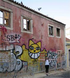 Jamie Lee, Lisbon, Portugal, Street Art, Tours, Culture, City, Places, Pictures