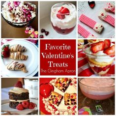 Our most favorite Valentine's treats: cookies, snacks, desserts, and punch that will make your Valentine's really special.