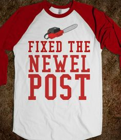 FIXED THE NEWEL POST