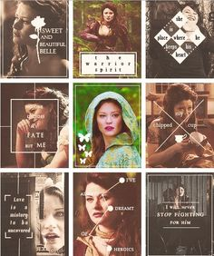 Belle from OUAT - fan made...love it except for the fact that someone doesn't know how to spell mystery