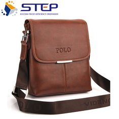 f68dafd17bf New 2016 Hot Selling High Quality PU Leather POLO Men Messenger Bags  Crossbody Bags Men's Travel