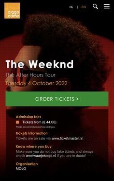 Amsterdam Weekend, The Weeknd, Buy Tickets, How To Plan, Book, The Weekend, Book Illustrations, Books
