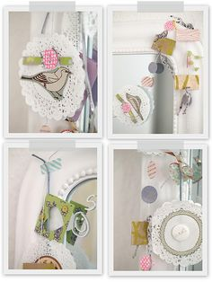 Crafty garlands by decor8, via Flickr