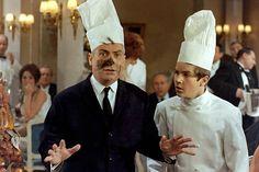 Louis et Olivier De Funès / Le grand restaurant