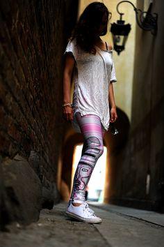 Piękne i wygodne! #FRIFRU #labelsshop #silver #pink #leggins