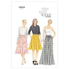 Vogue Patterns V8818 Misses Skirt, Size ZZ (LRG-XLG-XXL) Vogue Patterns http://www.amazon.com/dp/B008AGST36/ref=cm_sw_r_pi_dp_ppEbvb0085JHY