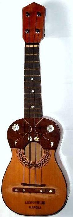 Leonardo Bellini Acoustic Soprano ukulele circa 1933