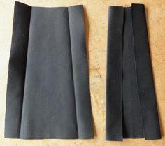 Flared Box Pleats - Anna