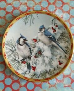Lenox Winter Song from Nature Collage Plate Collection Ltd Edition 1993 Mint in Collectibles | eBay