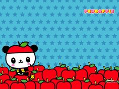 Pandapple with apples!